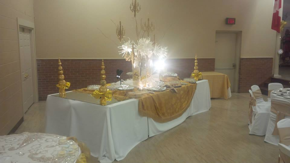 The Colombo Club of Oxford | Dessert table