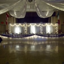 The Colombo Club of Oxford | Hall decorated for wedding