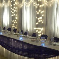 The Colombo Club of Oxford | Wedding head table