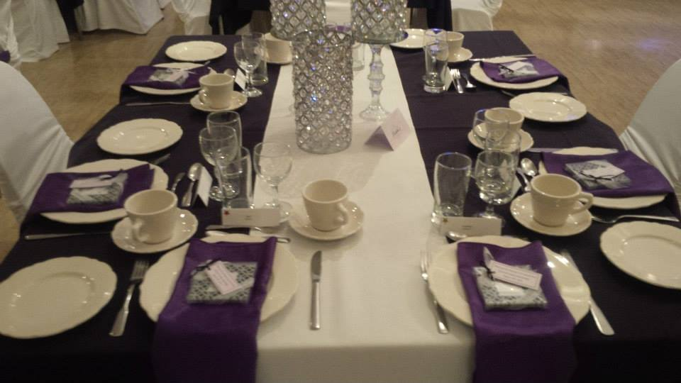 The Colombo Club of Oxford | Wedding tables